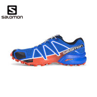 新款 SALOMON/萨洛蒙 男款户外轻便透气越野跑鞋-Speedcross 4 M