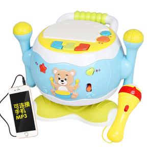 宝宝手拍鼓可充电儿童音乐拍拍鼓