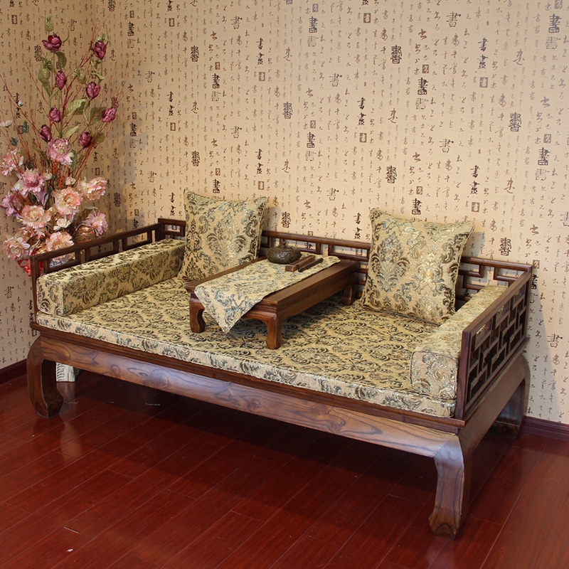 星沁中式罗汉床海绵床垫GD-013