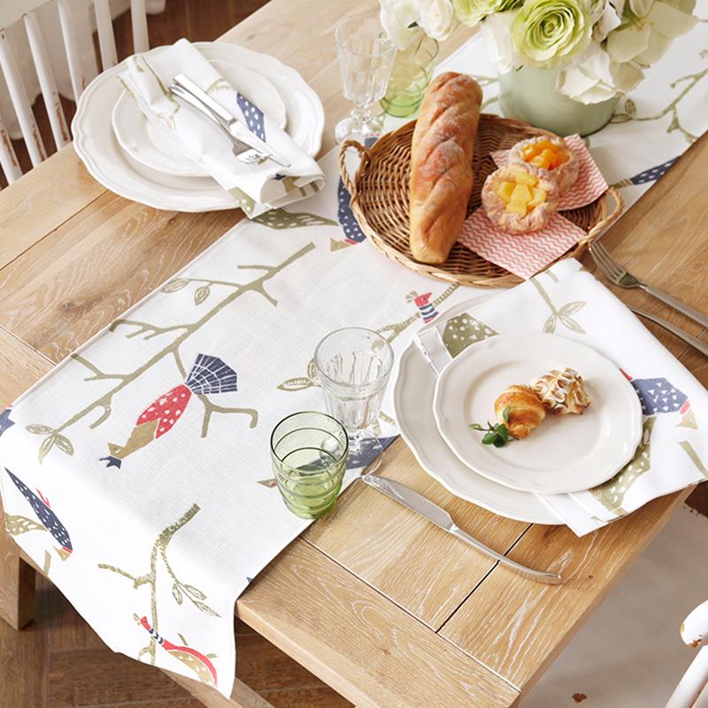 吉屋餐桌桌旗盖布JW02H0024