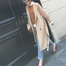 Women's raincoat Trench coat 2017009 2017