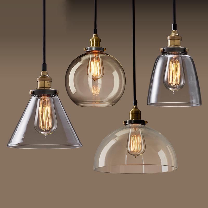 爱迪龙简约北欧美式乡村玻璃吊灯AD201452