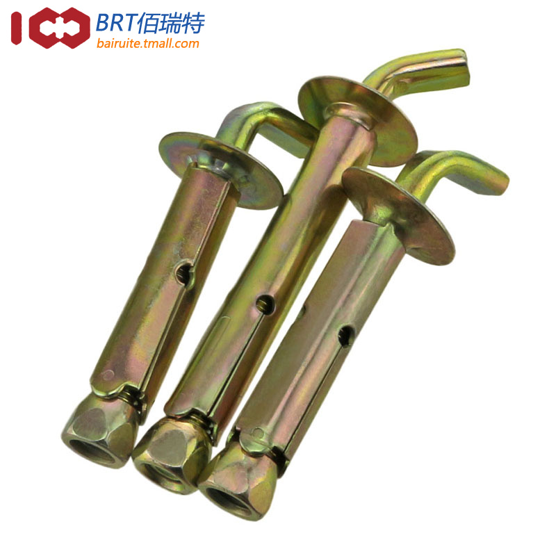 佰瑞特墙挂重型螺栓螺钉挂钩M10*100