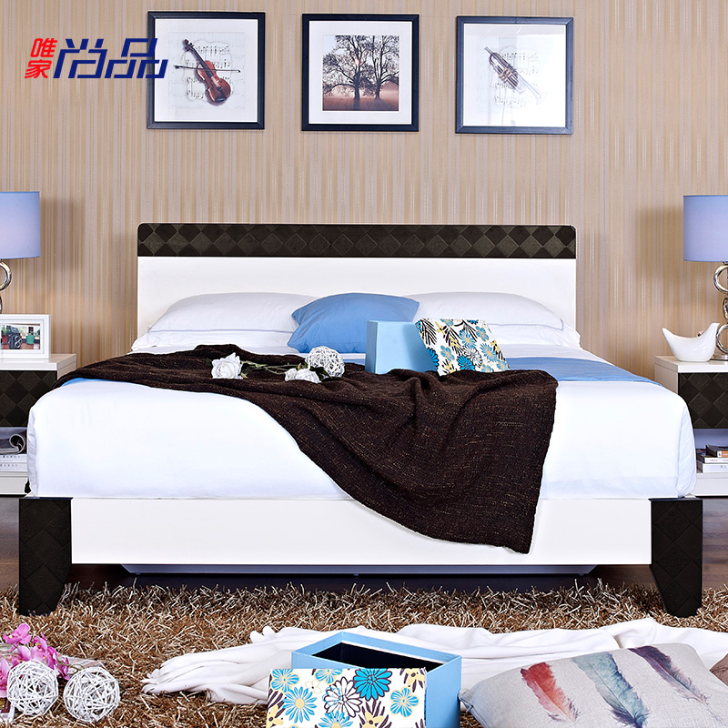 唯家尚品板式床JH08T7B
