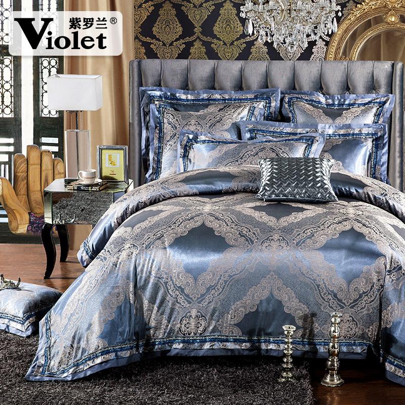 紫罗兰被套床单1703015
