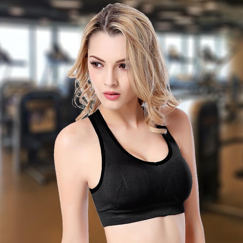 运动内衣女健身跑步学生背心式文胸