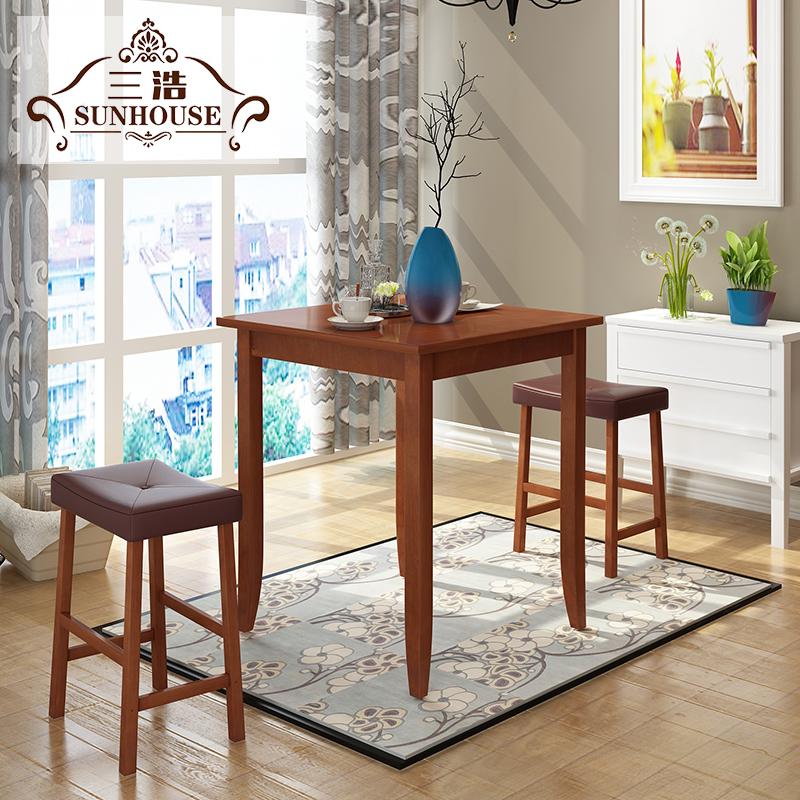 三浩美式餐桌椅CZY001