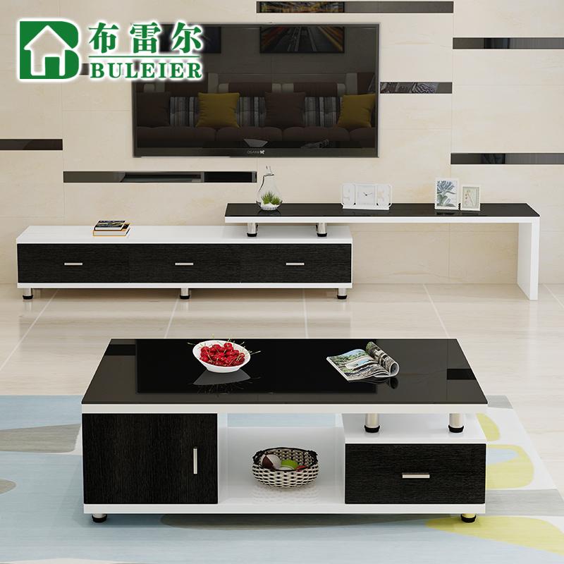 布雷尔茶几电视柜钢化玻璃茶几FCJ8629-3