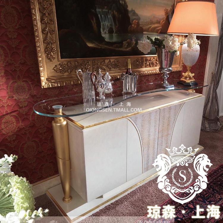 琼森新古典白色烤漆门柜23X001 (46)