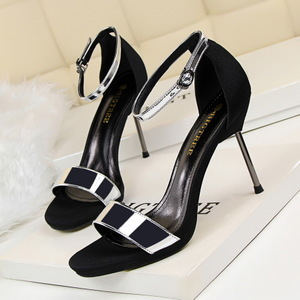 923-1 the European and American fashion sexy nightclub fine summer high heels for women's shoes with high heels waterpro