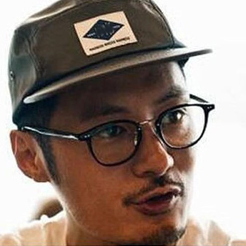 新款TR90余文乐同款眼镜框复古潮男女近视镜黑框防蓝光平光眼镜