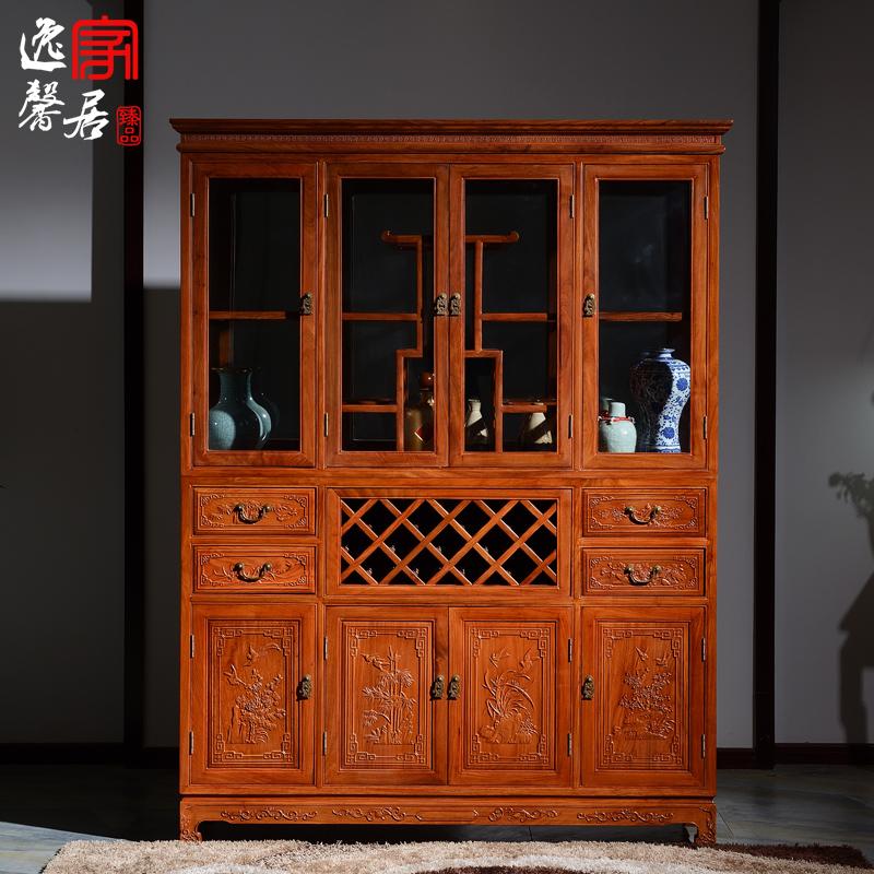 逸馨非洲花梨木酒柜FZHL-001