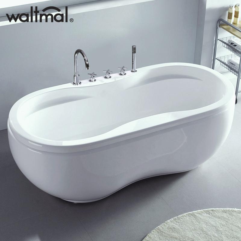 waltmal亚克力成人浴缸YG104