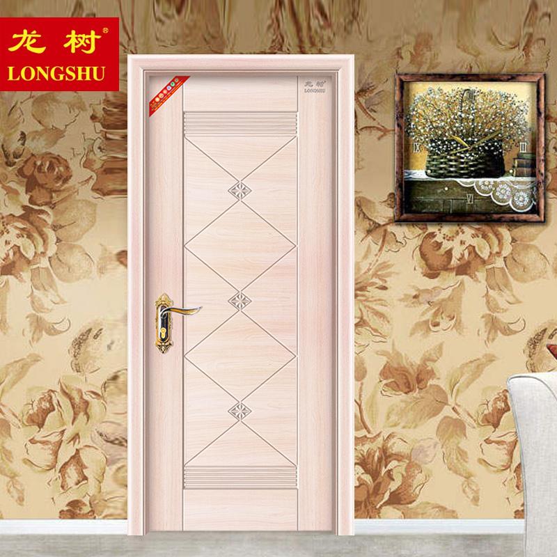 龙树longshu)高档新型钢木门H-2106
