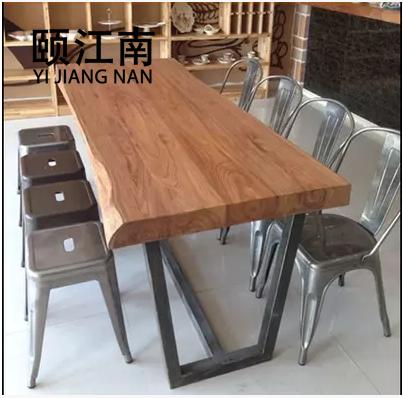颐江南复古工作台写字桌子z1