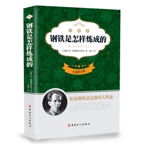 原版原著中文版书籍钢铁是怎样炼成的