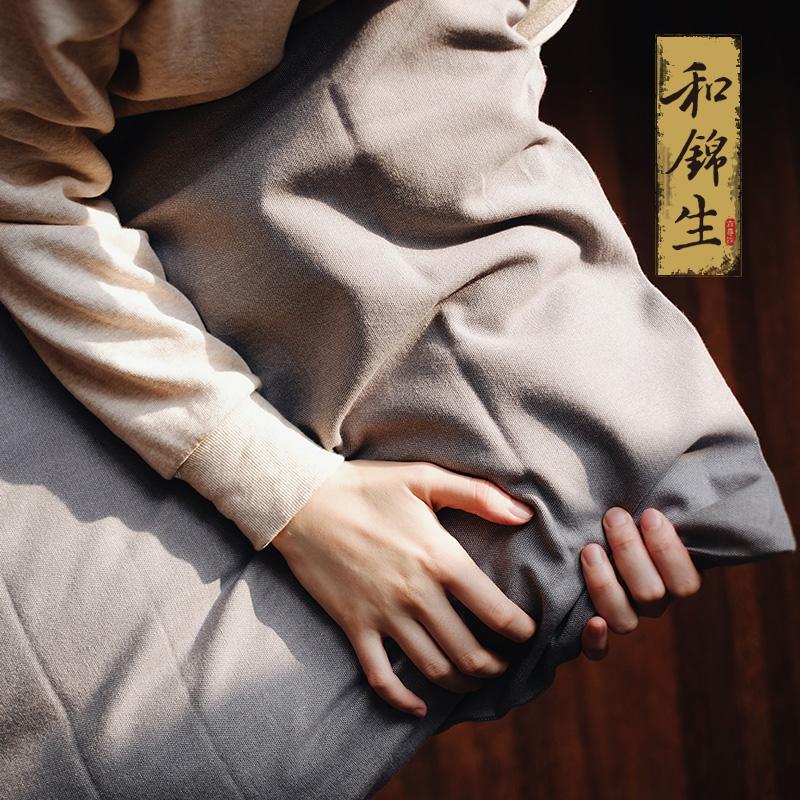 和锦生粗布锦纯棉老粗布枕套LJ63枕套