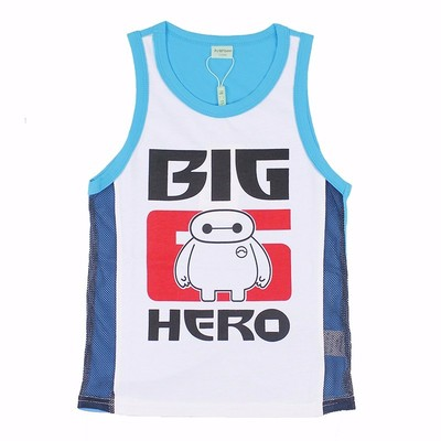 2017 children's clothing new summer children's clothing boys summer children's casual cotton sleeveless vest T-shirt T-shirt