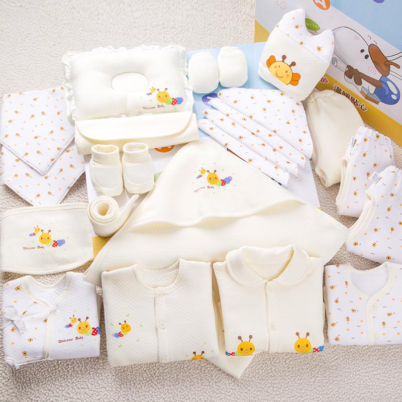 Newborn Gift Set Baby Clothes Winter 0 3 Months Cotton 6 Newborn