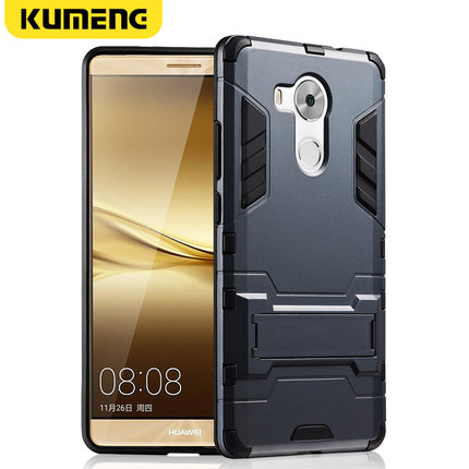 Huawei mate8 mobile phone shell mates silicone protective cover mt8 personality all-inclusive shatter-resistant shell m8 tide men and women models creative soft silicone matte hard shell all-inclusive soft shell (华为mate8手机壳mates硅胶保护套mt8个性全包防摔外壳m8潮男女款创意软硅胶磨砂硬壳全包边软壳)
