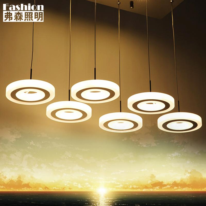 弗森创意三头吊灯具吊灯6063d
