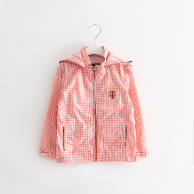 (Three 30% off) discount brand discount spring and autumn boys and girls thin windbreaker coat 3015