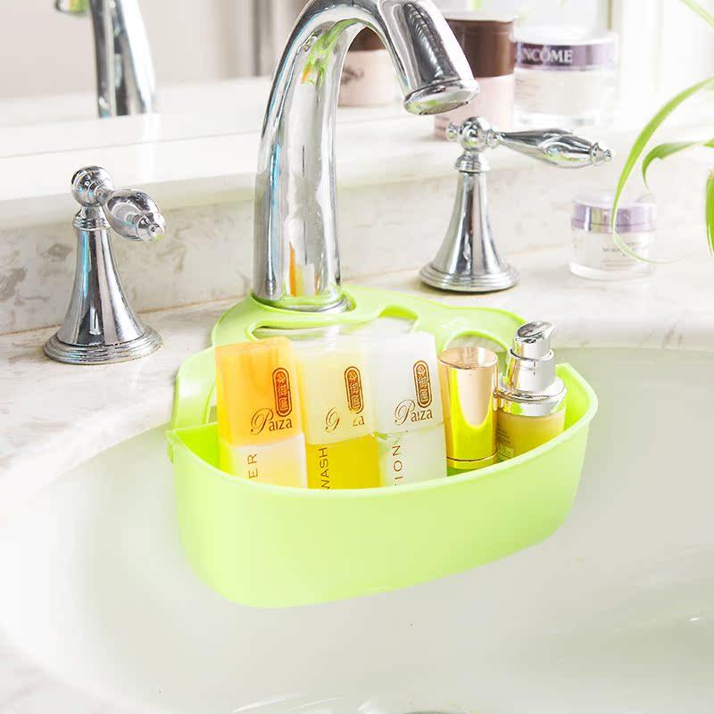 贩美丽迷你水槽置物架香皂盒