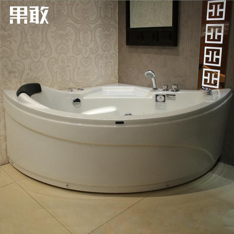 果敢双人三角扇形浴缸Z103