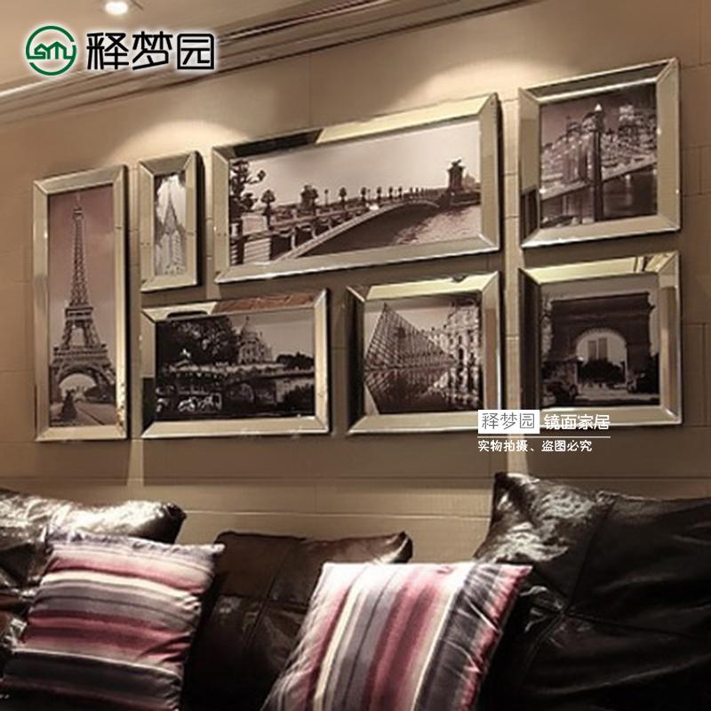 释梦园 相框 画框 家居饰品 壁饰挂饰 创意照片墙 现代欧式 W1149