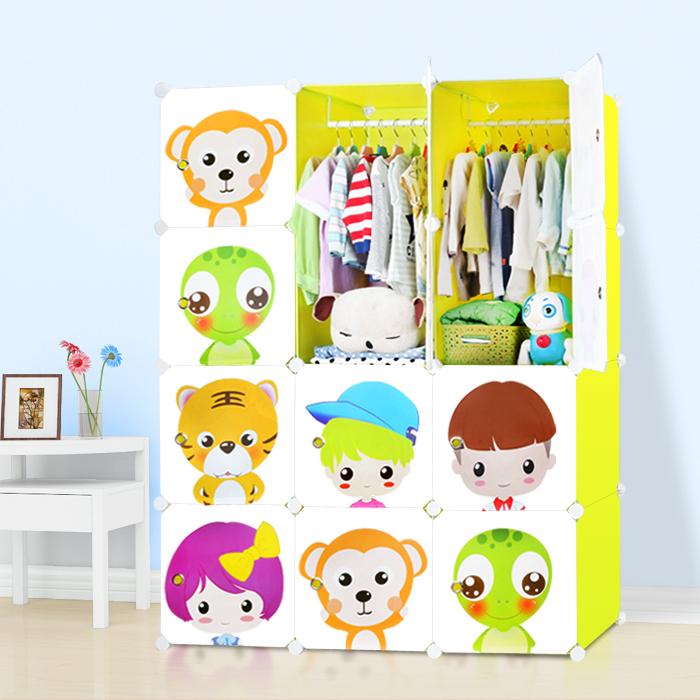 乐莉简易组装儿童衣柜