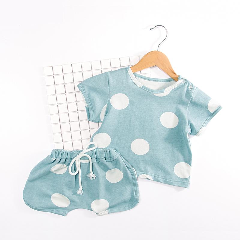 夏装宝宝两件套婴儿套装纯棉舒适