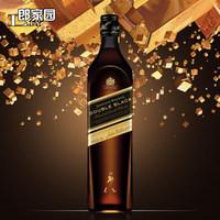 洋酒Johnnie Walker Double Black尊尼获加黑方醇黑威士忌酒