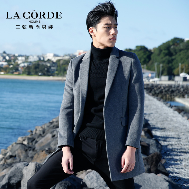 Men's coat La corde baa632015