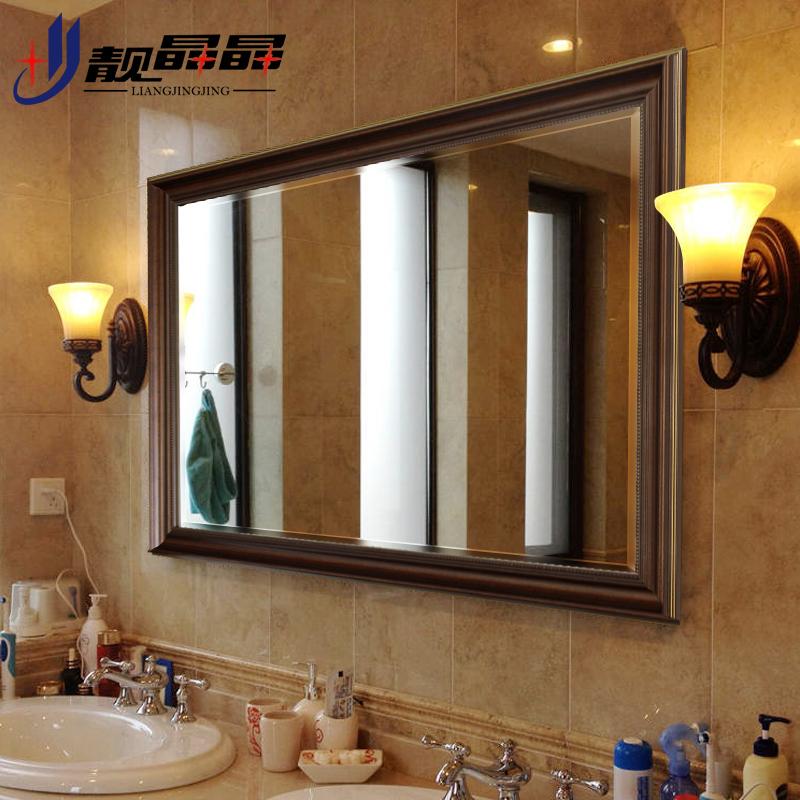 靓晶晶欧式洗手台镜子K8579