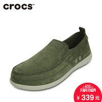 Crocs卡骆驰男鞋泊湾睿质男士商务休闲鞋冬季透气皮鞋|15626