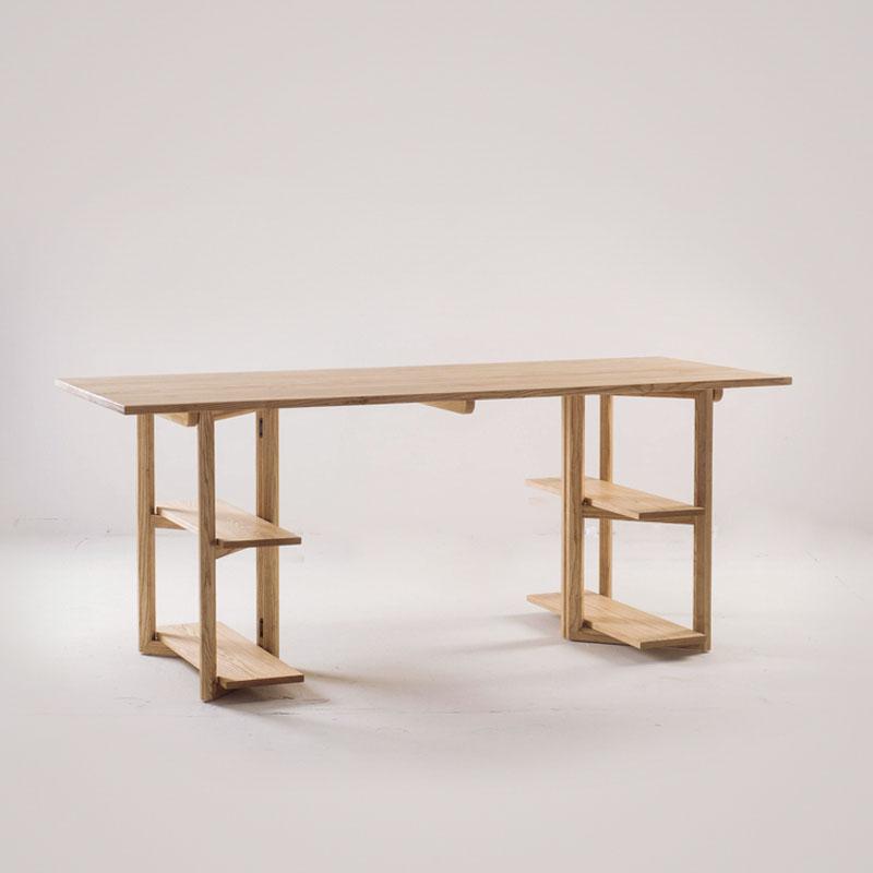木头公园实木书桌JB0170110