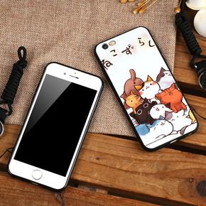 苹果6Plus/6/6s手机壳全包硅胶保护套
