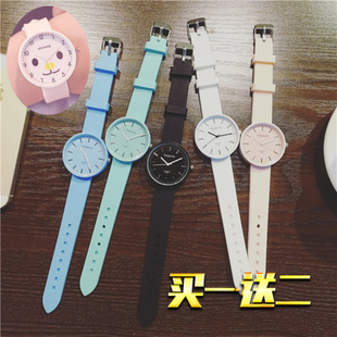Korean girls watch jelly students stylish Harajuku lovers the Department of electronic machinery quartz