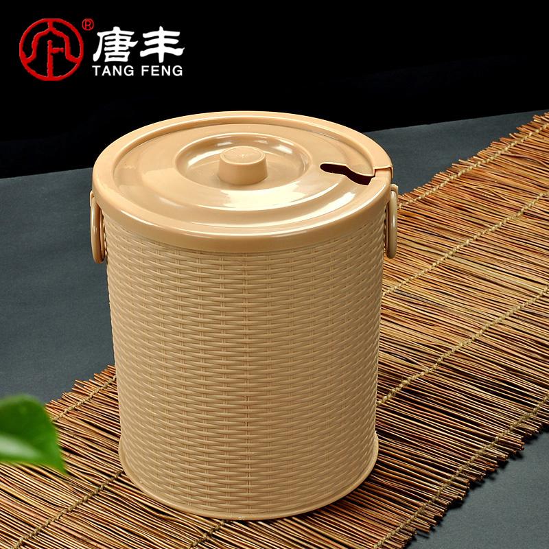 唐丰茶水桶茶具茶渣桶TF-4444