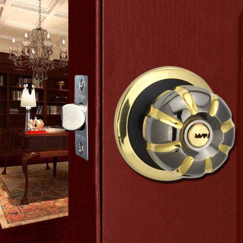荣力斯门锁球形锁欧式实木门锁GD-L8881-RG