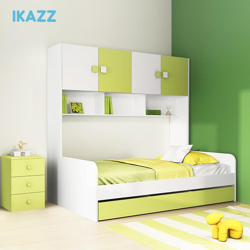 ikazz青少年男孩女孩双层床高低床RT817