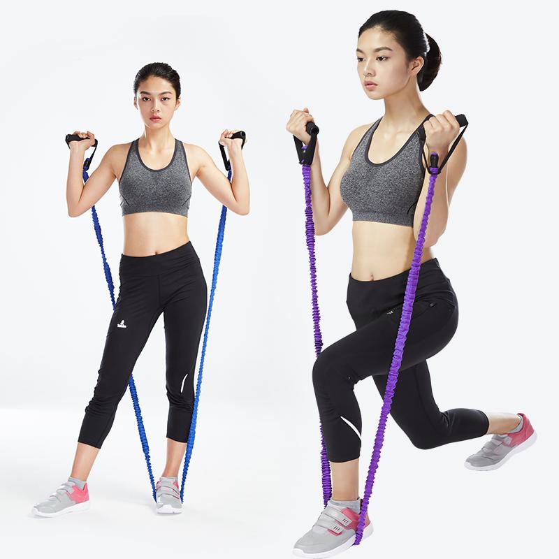 一字拉力绳健身弹力绳 拉力器 拉力带 用器材 男女瑜伽绳力量训练