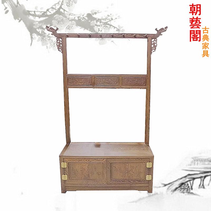 朝艺阁实木中式仿古鞋柜cyg-1225