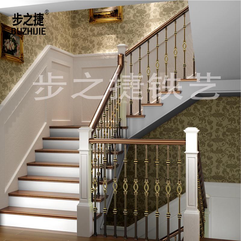 步之捷铁艺楼梯扶手237