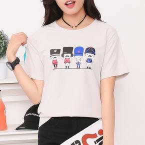 夏季卡通日系森女系短袖T恤