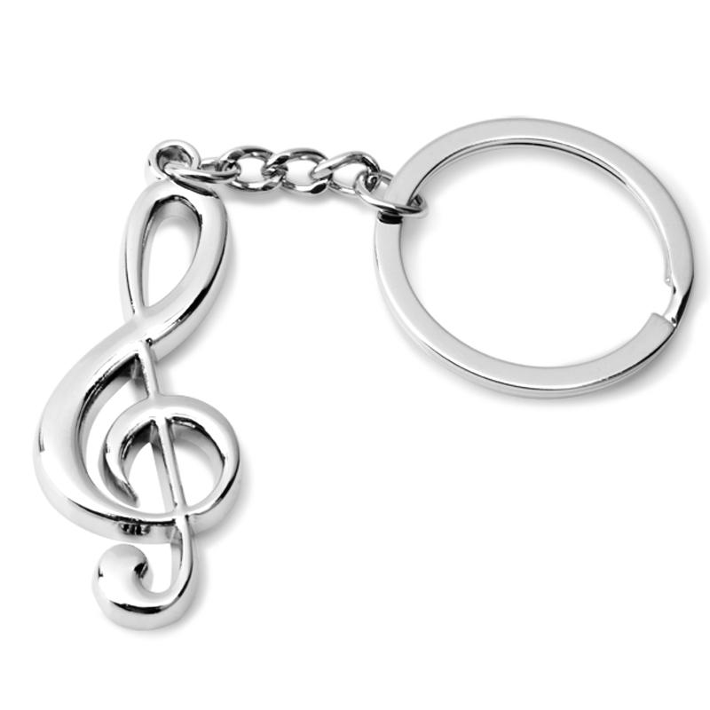 莱珍斯创意实用挂饰 音符钥匙扣
