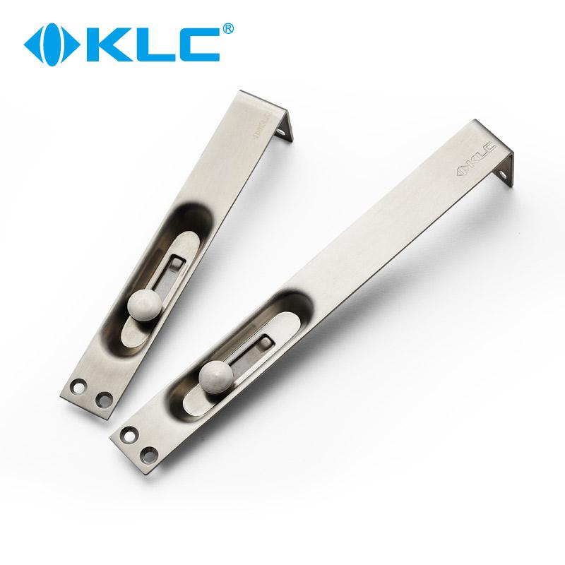 klc不锈钢木门暗插销门栓E01