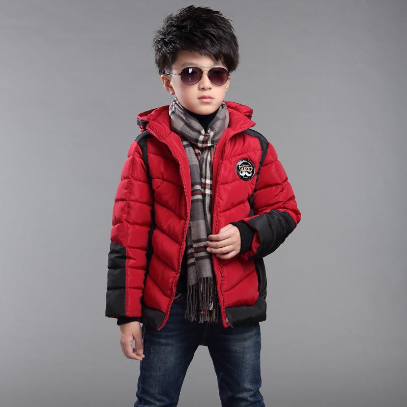 【天天特价】冬装5童装6男童7棉衣外套8加厚9儿童棉服10棉袄11岁