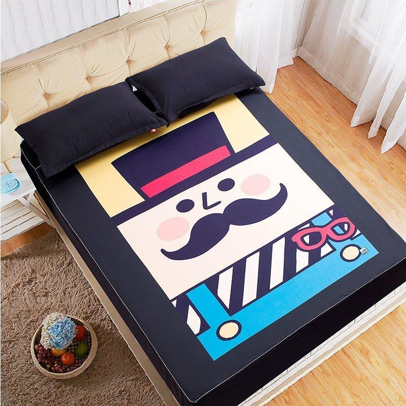 朗绮国际床垫保护套动物园床笠4