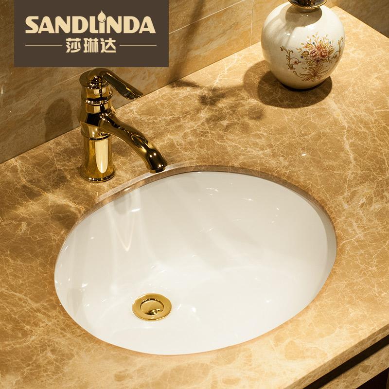 莎琳达椭圆形陶瓷洗脸盆A18/A20/A22